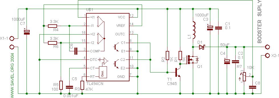 TL494- Power supply for VFD   Savel brain dump in English!